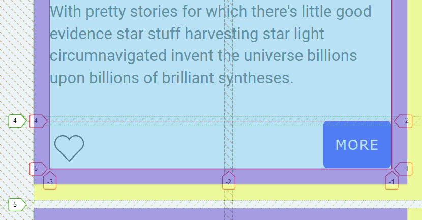 CSS Subgrid - margins and paddings